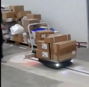 телега робот